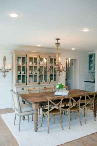 67 gorgeous farmhouse dining room table and decorating ideas