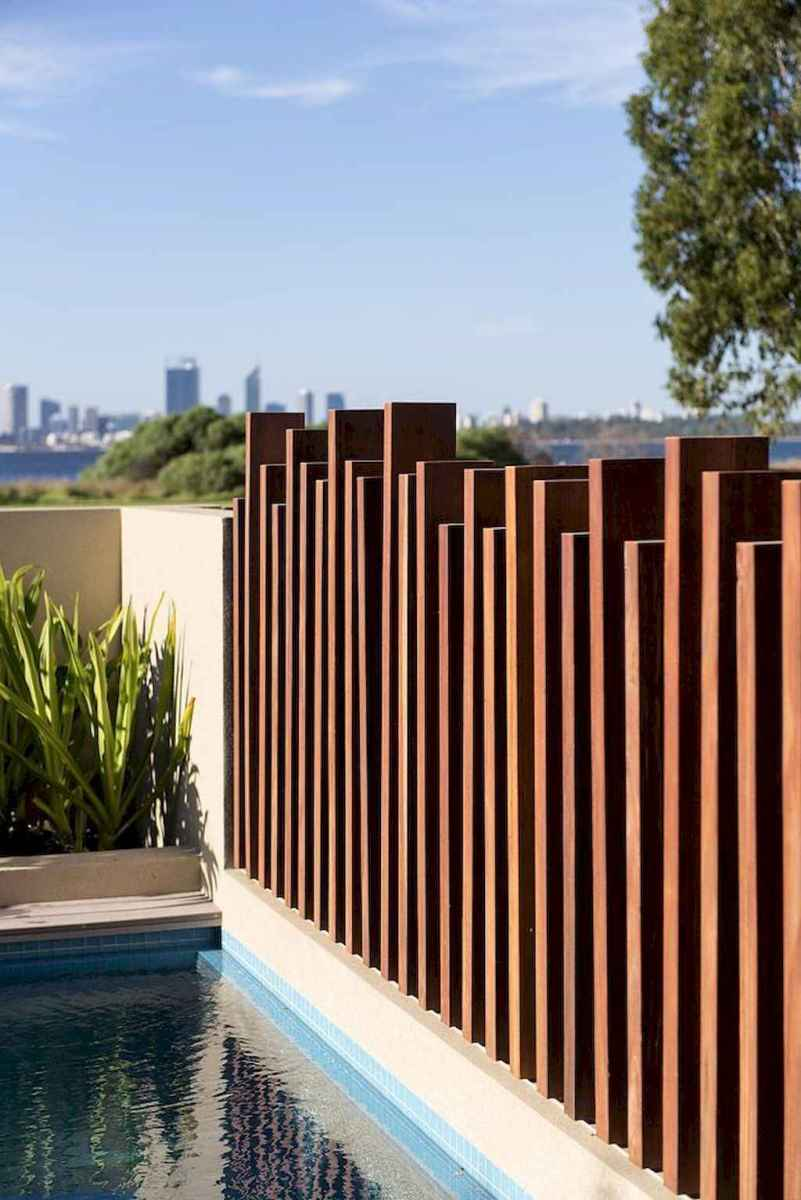 71 easy creative privacy fence design ideas