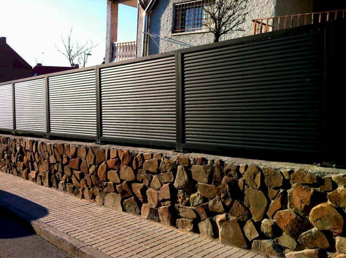 75 easy creative privacy fence design ideas