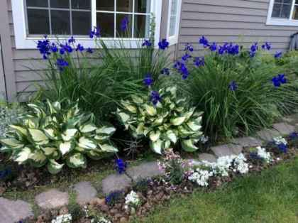 01 beautiful front yard cottage garden landscaping ideas