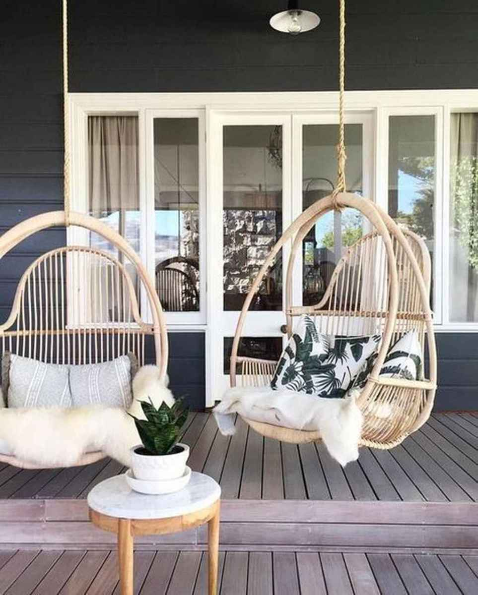 03 hang relaxing front porch swing decor ideas