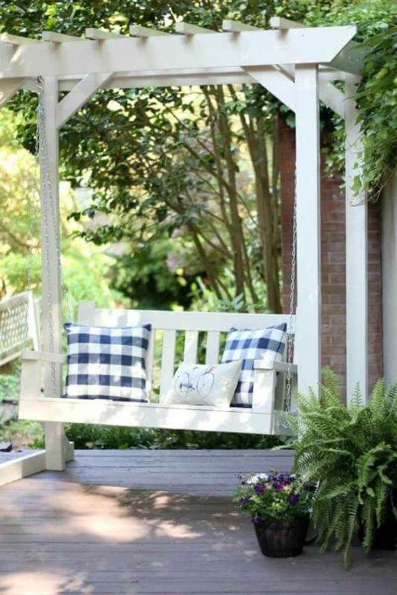 05 amazing backyard ideas with garden swing seats for summer