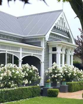 06 beautiful front yard cottage garden landscaping ideas