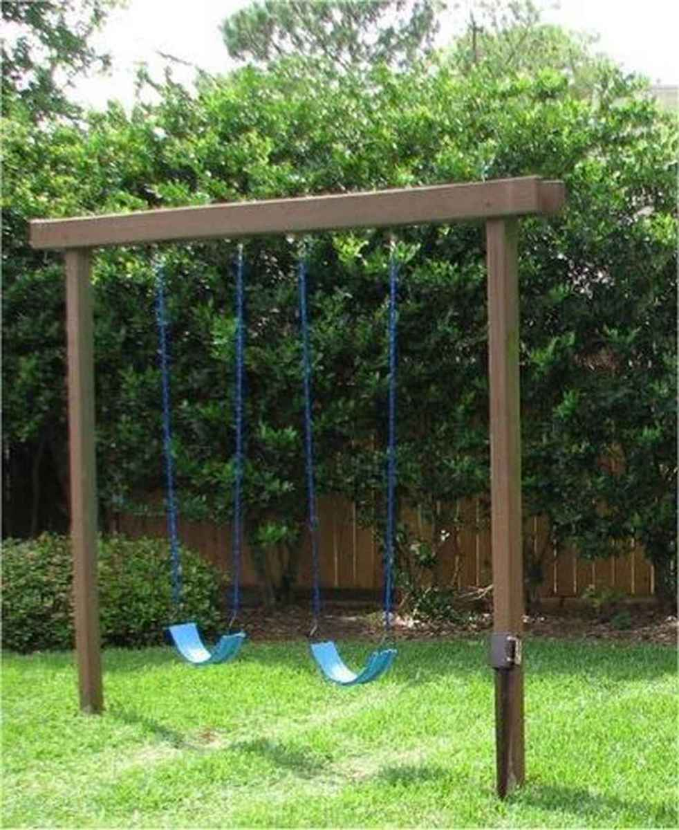 16 amazing backyard ideas with garden swing seats for summer