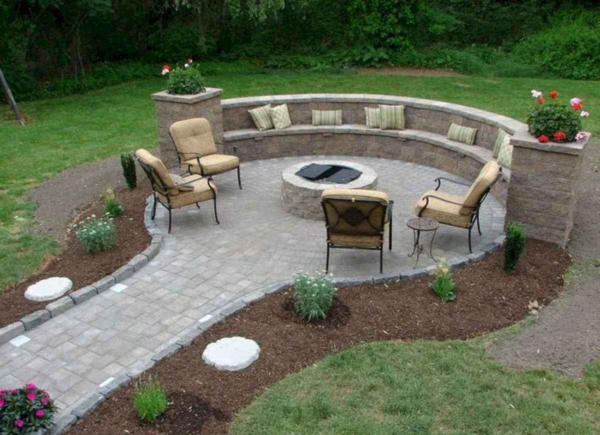 16 awesome outdoor fire pit seating design ideas for backyard