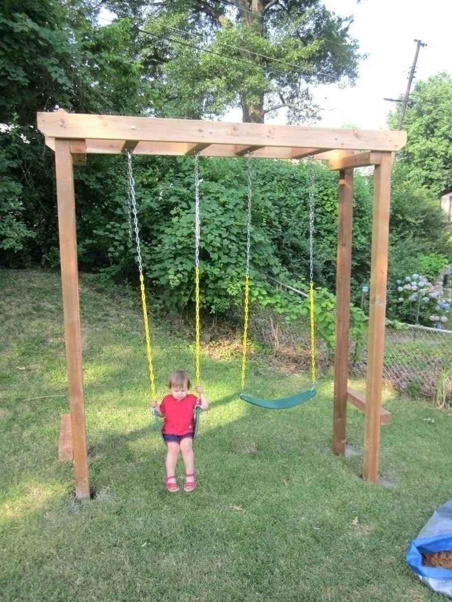 19 amazing backyard ideas with garden swing seats for summer