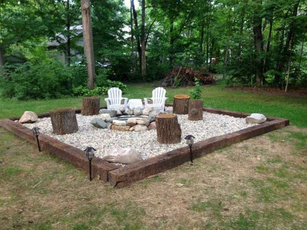 26 awesome outdoor fire pit seating design ideas for backyard
