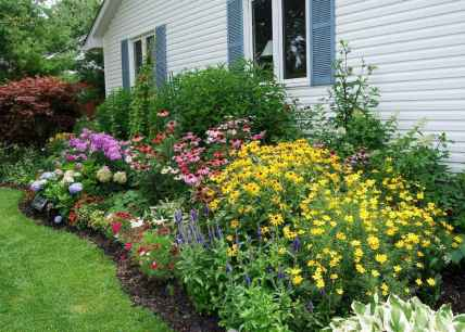 27 beautiful front yard cottage garden landscaping ideas