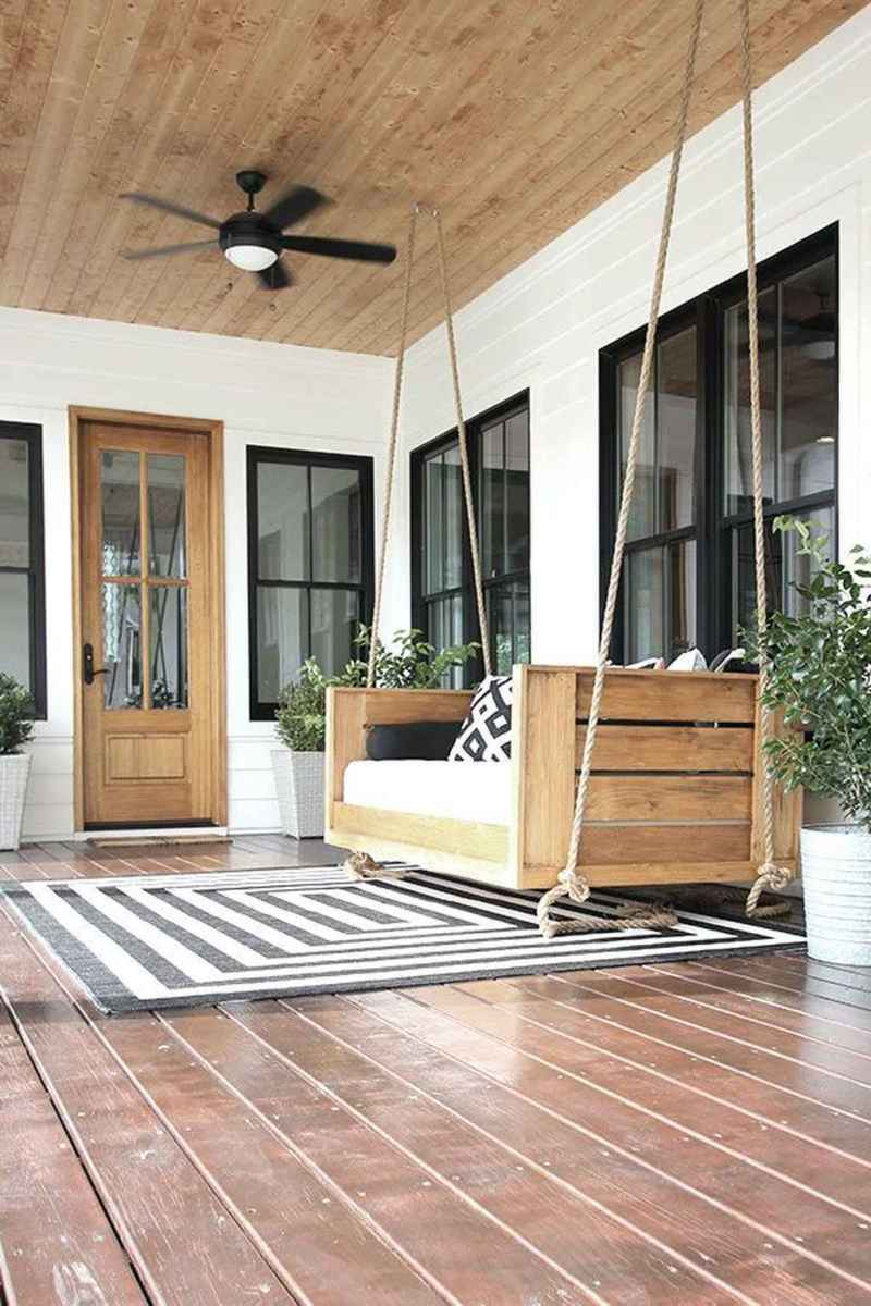 29 hang relaxing front porch swing decor ideas