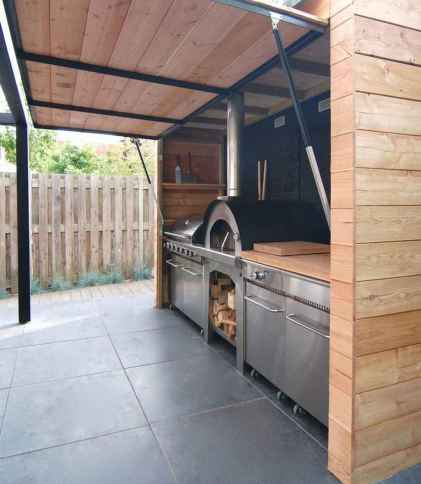 41 best outdoor kitchen and grill for summer backyard ideas