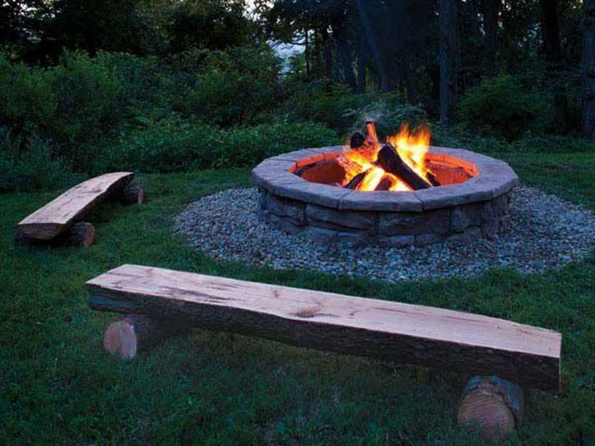 42 awesome outdoor fire pit seating design ideas for backyard