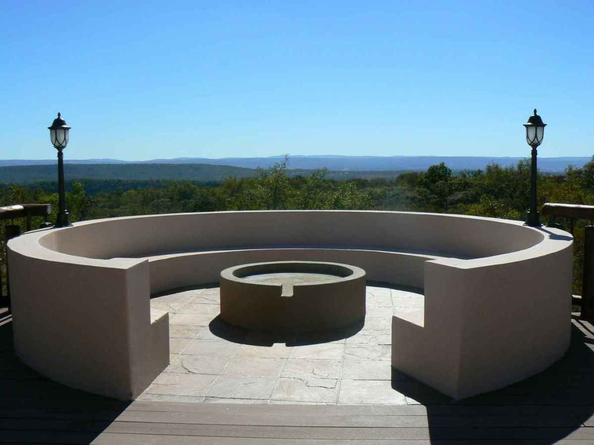 44 awesome outdoor fire pit seating design ideas for backyard