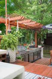 46 best outdoor kitchen and grill for summer backyard ideas