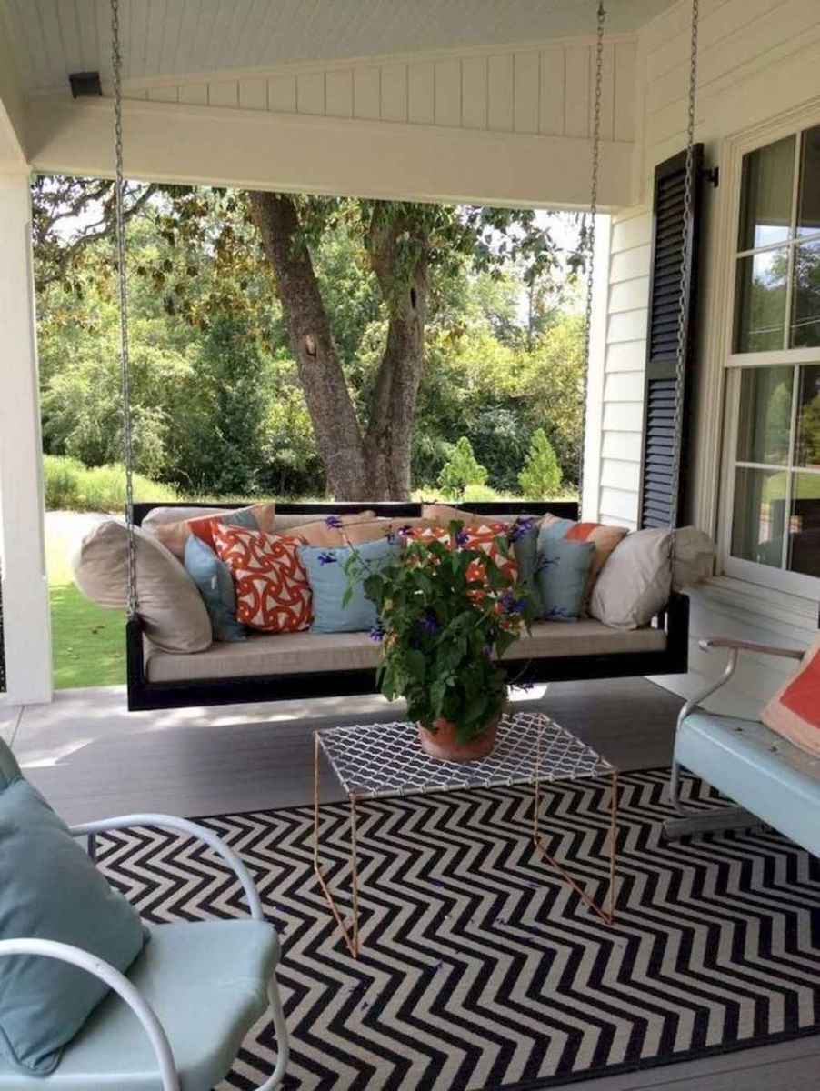 48 hang relaxing front porch swing decor ideas
