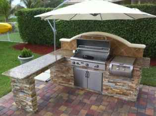 58 best outdoor kitchen and grill for summer backyard ideas