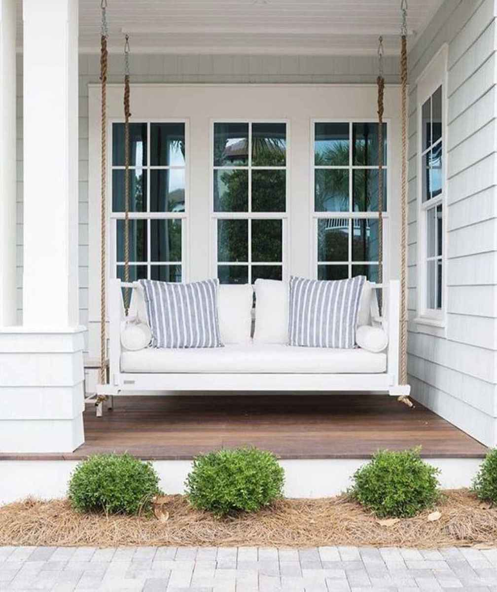 64 hang relaxing front porch swing decor ideas