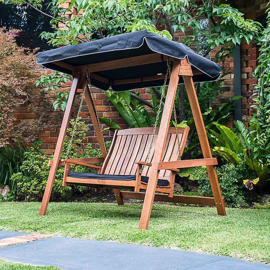 72 amazing backyard ideas with garden swing seats for summer