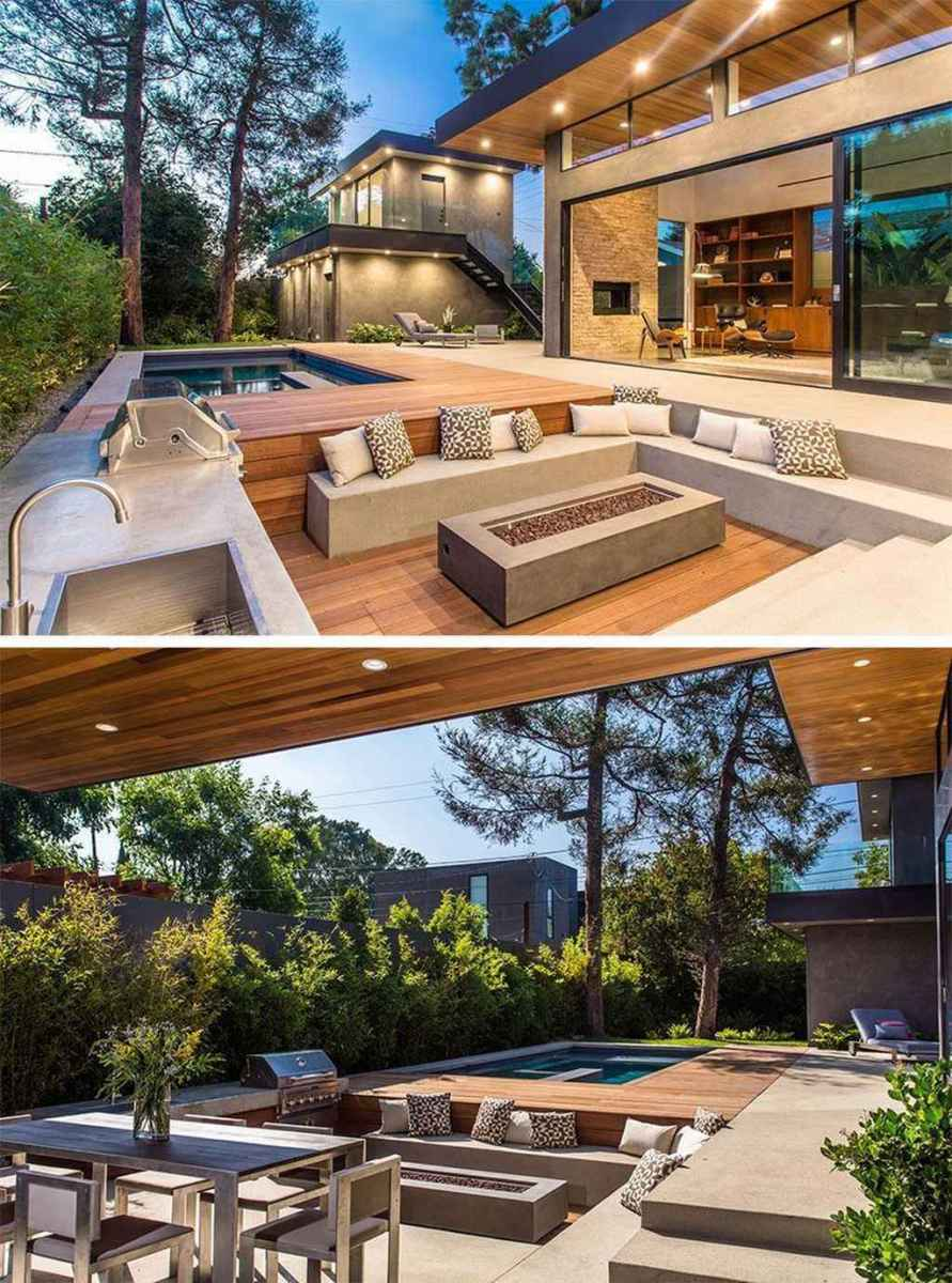 82 awesome outdoor fire pit seating design ideas for backyard