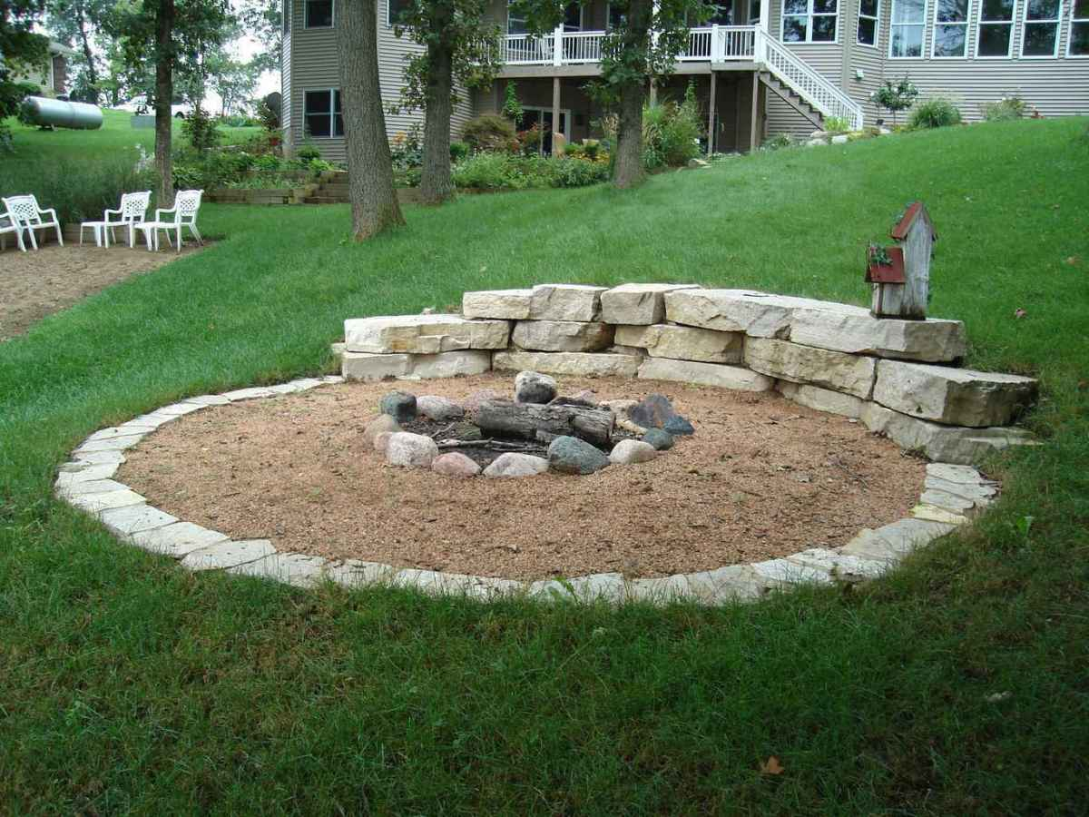 84 awesome outdoor fire pit seating design ideas for backyard