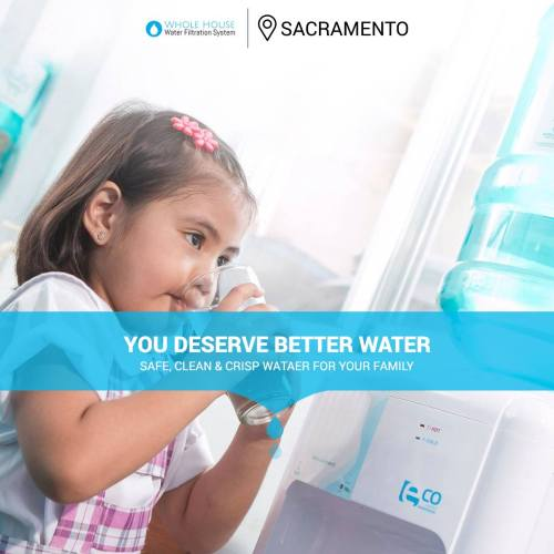 clean, purified water in sacramento