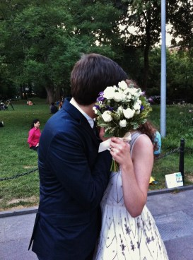 I married the man I'd been waiting for