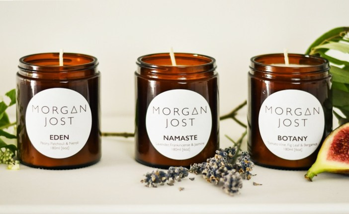 Gift ideas for Christmas ethical.market  Scented Candles from Morgan Jost
