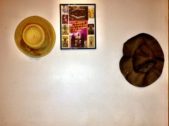 "My ""Church Hat"" Wall"