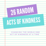random acts of kindness examples