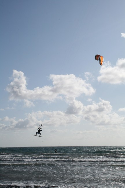 kite surfing - you were born to fly