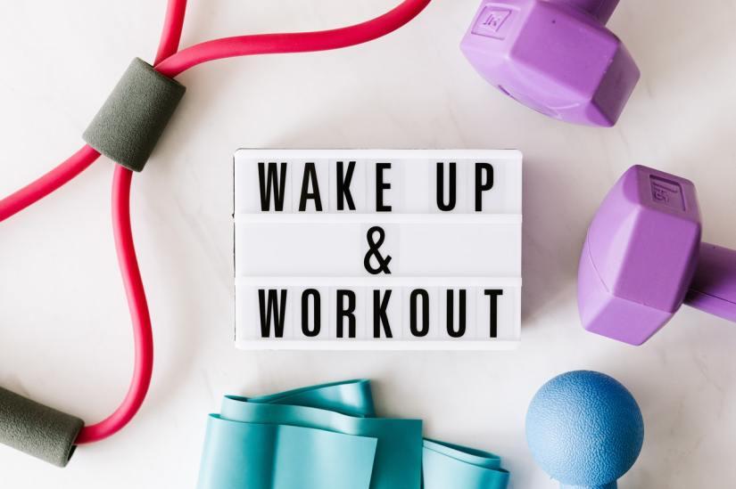 wake up and workout