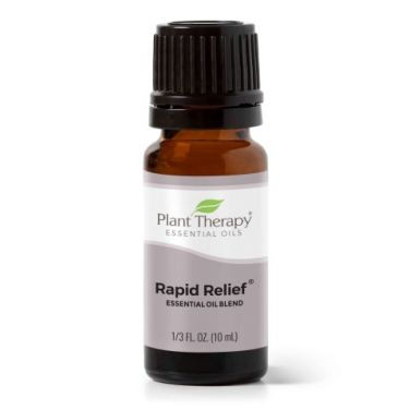 rapid relief essential oil blend: how to get rid of back pain naturally