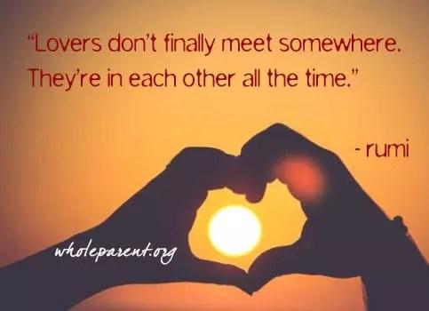 rumi valentine's day quote 2020
