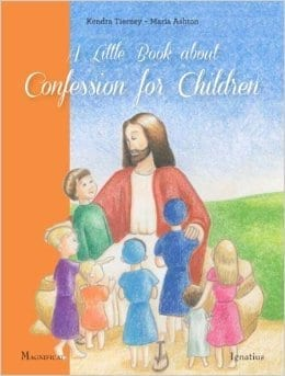 for my Catholic parent friends: a great book on confession {rev'd & giveaway'd}