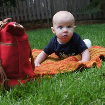 the prettiest purse that has a diaper bag day job {lily jade review}