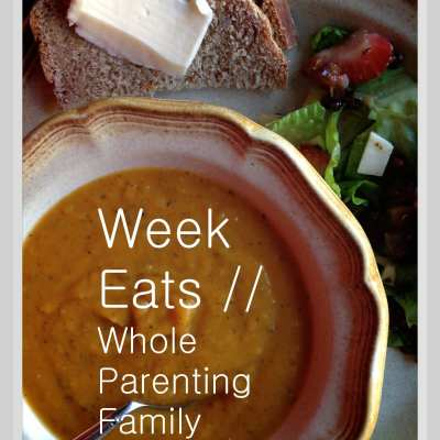 Week Eats v.9// Comment & Linkup Meal Plan