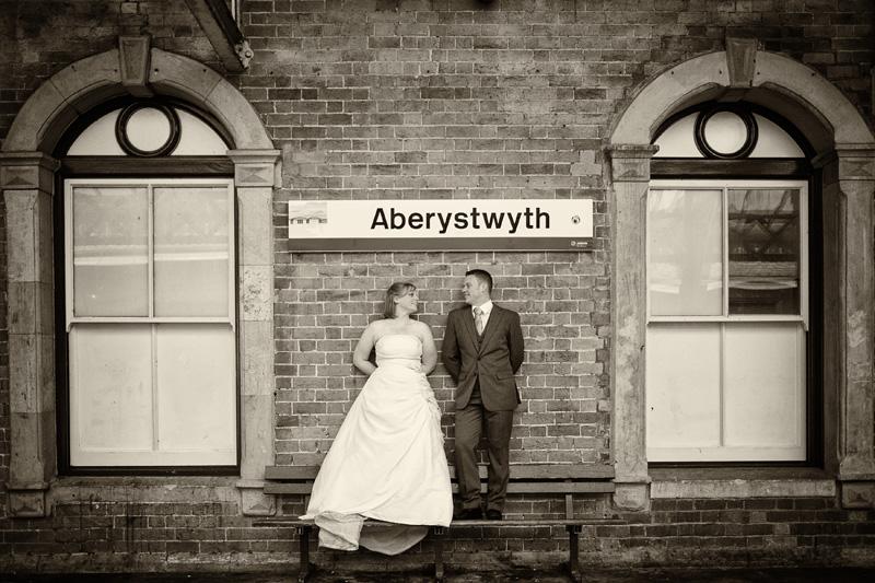 Take Two Aberystwyth train station