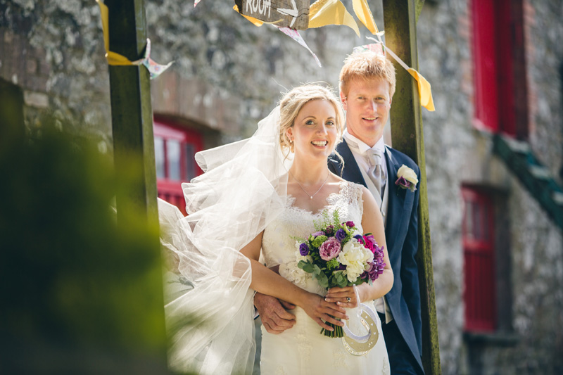 At home Pembrokeshire wedding by Whole Picture Weddings