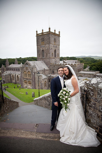 Charlie and Jon's St David's Cathedral Wedding