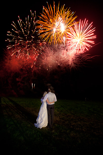 firework photographer wedding
