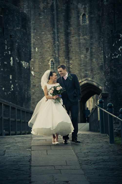 Caerphilly wedding