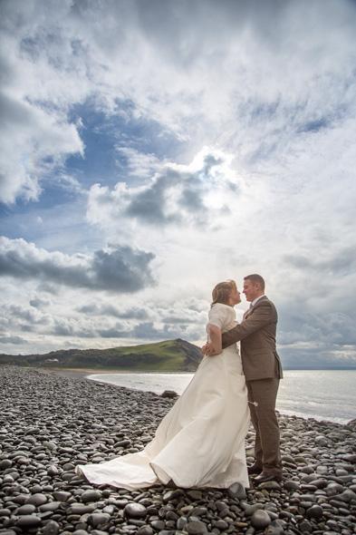 trash the dress aberystwyth beach