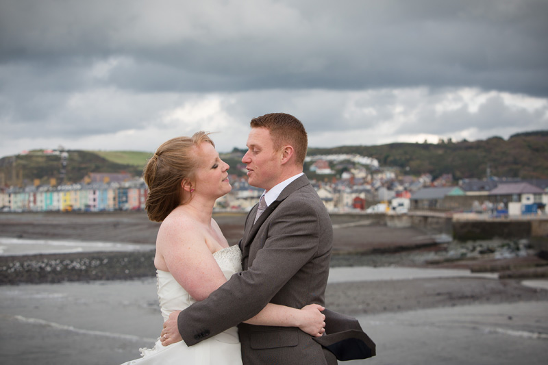trash the dress photoshoot aberystwyth