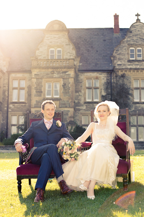 A sunny wedding at Rhosygilwen Mansion – with Caryl and Tom
