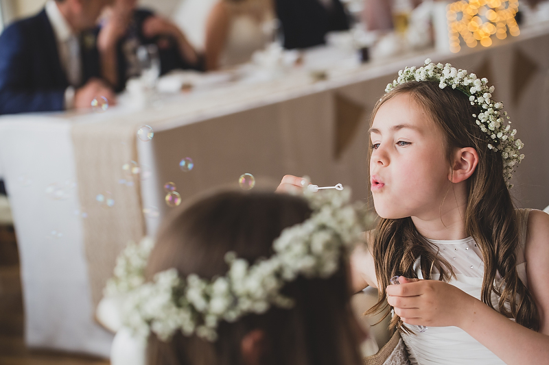Spring wedding at Cliff Hotel by Whole Picture Weddings