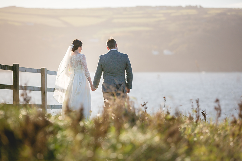 Winter Wedding at the Cliff Hotel with Carys and Rhys