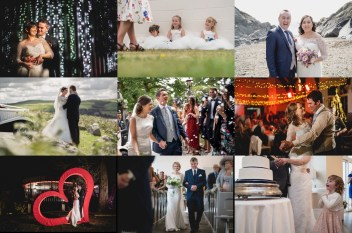 Wedding Photographs 2021 in Wales