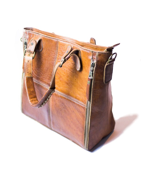 leather Tote hand bag LP09Lb-hb-2607