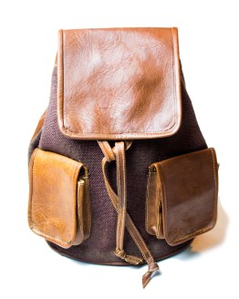 leather backpack Bag LP13LB-bp-0