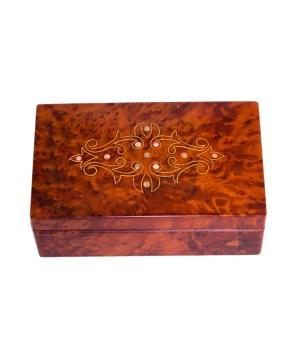 Square wood box SWJB-16-0