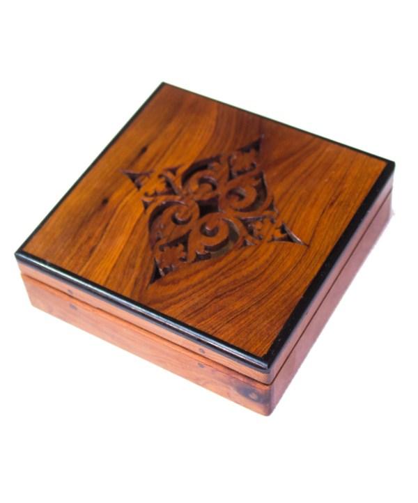 Square wood box SWJB-12-0